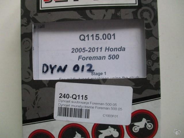 Dynojet suutinsarja Honda Foreman 500 05