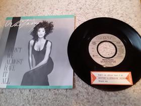 """Whitney Houston 7"""" Didn't we almost have it all, Musiikki CD, DVD ja äänitteet, Musiikki ja soittimet, Rovaniemi, Tori.fi"""