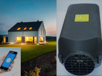 Mökkilämmitin 1-4 kW aurinkosähkömökille