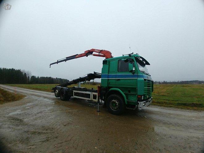 """Scania 113 """"ikiliikkuja"""" sis ALV:n"""