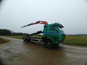 """Scania 113 """"ikiliikkuja"""" sis ALV:n, Kuljetuskalusto, Työkoneet ja kalusto, Kauhajoki, Tori.fi"""