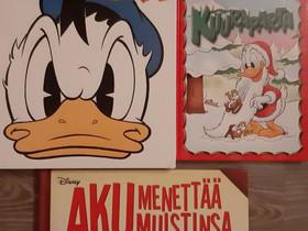 Aku Ankka kirjoja, Lastenkirjat, Kirjat ja lehdet, Jyväskylä, Tori.fi