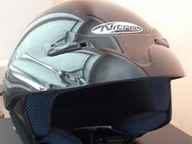 Uudenveroinen Nitro-merkkinen moottoripyöräkypärä,, Ajoasut, kengät ja kypärät, Mototarvikkeet ja varaosat, Asikkala, Tori.fi