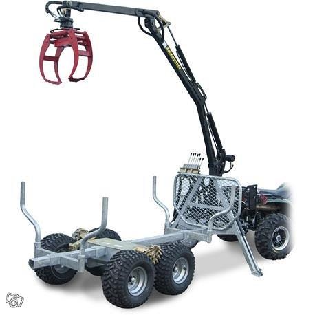 ATV GRAPPLE CRANE 350-II Hydraulisella vedolla ja