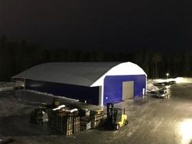 Finest-Hall 25 m h6,7 PVC-Halli Ammattikäyttöön, Liikkeille ja yrityksille, Tuusula, Tori.fi