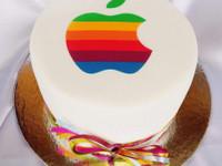 Syötävä kakkukuva tietokone - omasta kuvasta