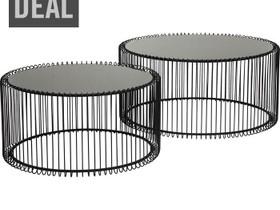 Sohvapöytä Wire musta (2/set), Pöydät ja tuolit, Sisustus ja huonekalut, Espoo, Tori.fi