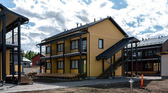 Uusi, saunallinen yksiö Jokiniemessä