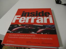 Inside Ferrari kirja, Harrastekirjat, Kirjat ja lehdet, Kuopio, Tori.fi