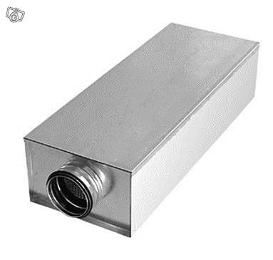 Äänenvaimennin kantikas KVDP 125-600mm Dacron