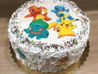 Syötävä kakkukoriste Pokemon - omasta kuvasta