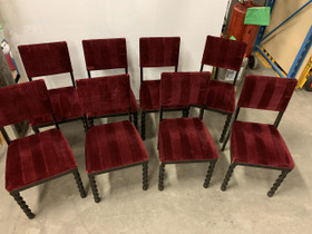 Barokki tuolit X 8 kpl, BAROKKI 1/3, Antiikki ja taide, Sisustus ja huonekalut, Helsinki, Tori.fi