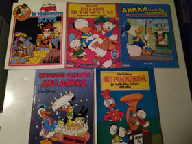 Akun Ankan kirjoja, Sarjakuvat, Kirjat ja lehdet, Kajaani, Tori.fi