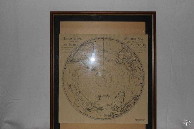 """Vanha """"kuva"""" maapallon eteläpuoliskolta"""