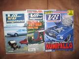 V8-Magazine lehdet 1980 - 2017, Lehdet, Kirjat ja lehdet, Lahti, Tori.fi