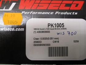 WISECO PK1005 Mäntsarja 66MM SUZUKI LT230 85-94, Mönkijän varaosat ja tarvikkeet, Mototarvikkeet ja varaosat, Helsinki, Tori.fi
