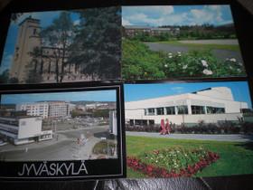 Jyväskylä kortteja 8kpl, Muu keräily, Keräily, Keuruu, Tori.fi