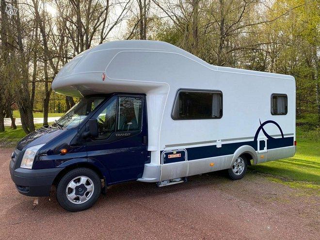 Asuntoauto Hymer Camp