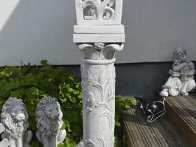 Patsaat: Lyhty korkea 3-osainen, betonia 132 kg, Sisustustavarat, Sisustus ja huonekalut, Salo, Tori.fi