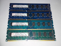 Hynix muisteja DDR3 1333MHz
