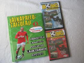 Jalkapallokirja ja kaksi levyä, Imatra/posti, Jalkapallo, Urheilu ja ulkoilu, Imatra, Tori.fi