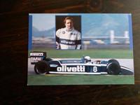 Brabham BMW BT55 1986 -postikortti