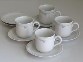 4 kissankello kuppiparia, 2 ylimääräistä teevatia, Kahvikupit, mukit ja lasit, Keittiötarvikkeet ja astiat, Hollola, Tori.fi