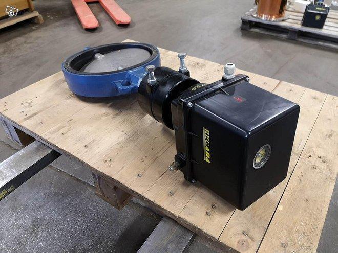 Uusi Läppäventtiili sähkösäätöinen DN300