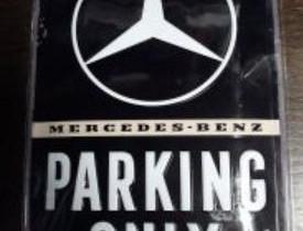 Mercedes-benz parking only -kilpi, Muu piha ja puutarha, Piha ja puutarha, Jyväskylä, Tori.fi