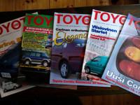 Toyota Plus -asiakaslehtiä 1996/1997