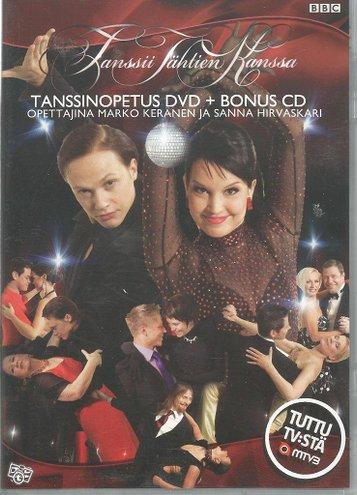 Tanssinopetus dvd + bonus cd