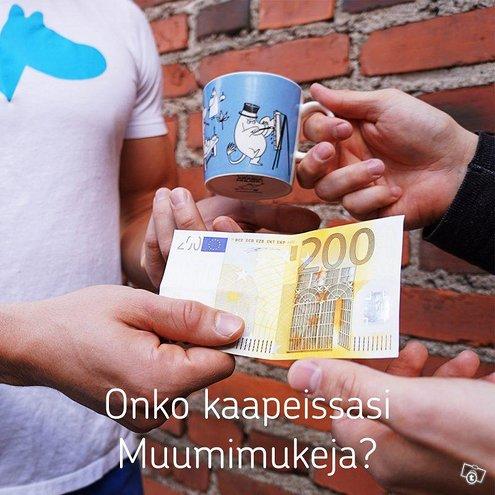 Muumimukit Rahaksi