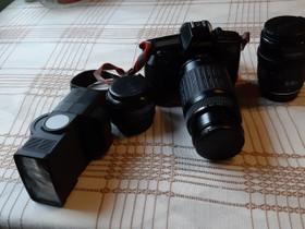 Kamera varusteineen, Kamerat, Kamerat ja valokuvaus, Lapua, Tori.fi