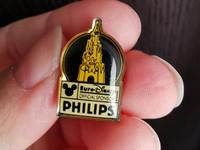 Euro Disney Philips vanha pin pinssi rintaneula