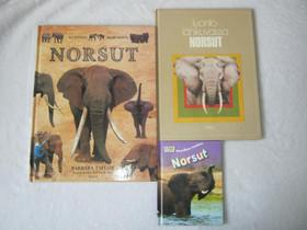 Norsuaiheiset kirjat kolme erilaista Imatra/posti, Lastenkirjat, Kirjat ja lehdet, Imatra, Tori.fi