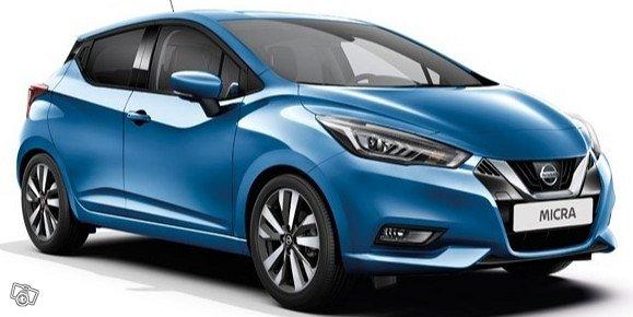 Nissan Micra - uusi malli Viikoksi 227 Eur