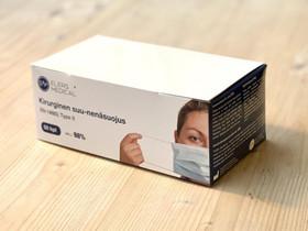 Kirurginen suu-nenäsuojus Type-II 50kpl, Terveyslaitteet ja hygieniatarvikkeet, Terveys ja hyvinvointi, Helsinki, Tori.fi