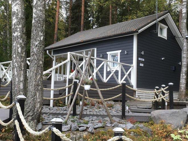 Kesämökki ja palju Päijänteen rannalla Jyväskylä