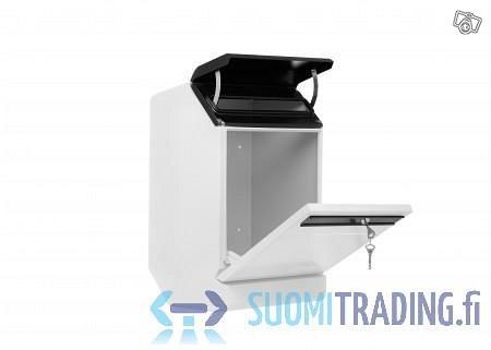 Finnbear RST valkoinen/musta postilaatikko