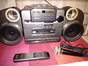 Radio-kasetti-CD-soitin Nesco 90-luvun taitteesta, Audio ja musiikkilaitteet, Viihde-elektroniikka, Joensuu, Tori.fi