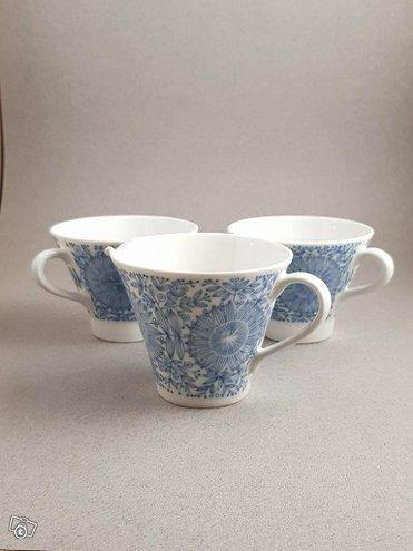 Arabia Filigran kermakko + 2 kahvikuppia
