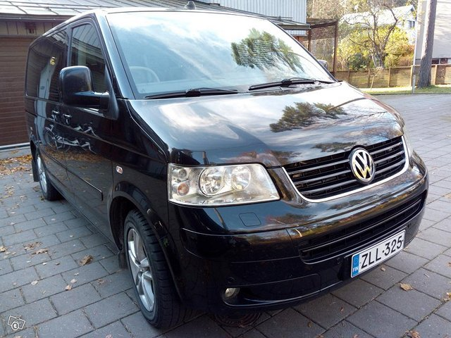7 hengen VW Multivan Highline