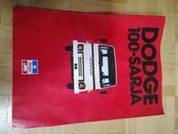 Dodge 100-ssrjan esite