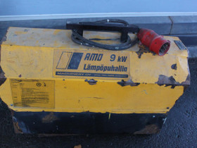 Amo 9kw lämpöpuhallin, Lämmityslaitteet ja takat, Rakennustarvikkeet ja työkalut, Kokkola, Tori.fi