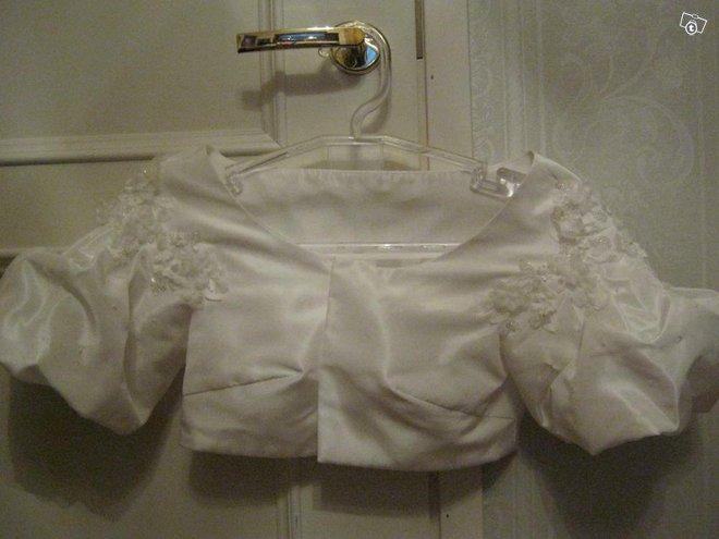 Bolero hääbolero hääpuku jakku taftia Ivory 34 -36