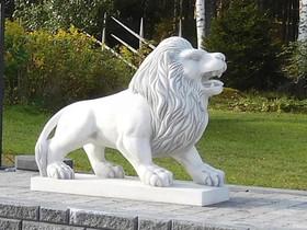 Patsaat: Leijona, betonia 404 kg S203009, Ruukut, kivet ja koristeet, Piha ja puutarha, Salo, Tori.fi