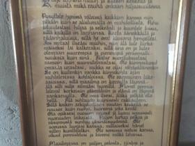 Desiderata taulu, Taulut, Sisustus ja huonekalut, Eurajoki, Tori.fi