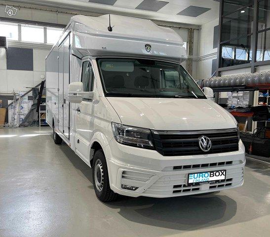 Volkswagen Muut Crafter Eurobox XXL 25m3