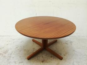 Pyöreä teak pöytä 60-luku M1, Pöydät ja tuolit, Sisustus ja huonekalut, Salo, Tori.fi