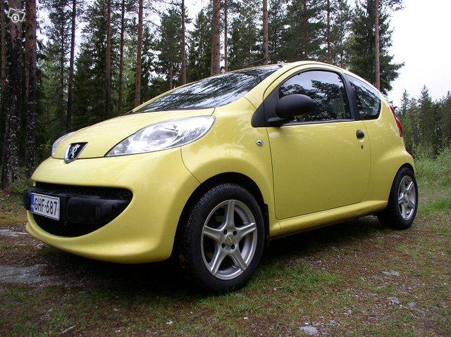 Peugeot 107 3-door 1.0 Manual, 68hp, 2007
